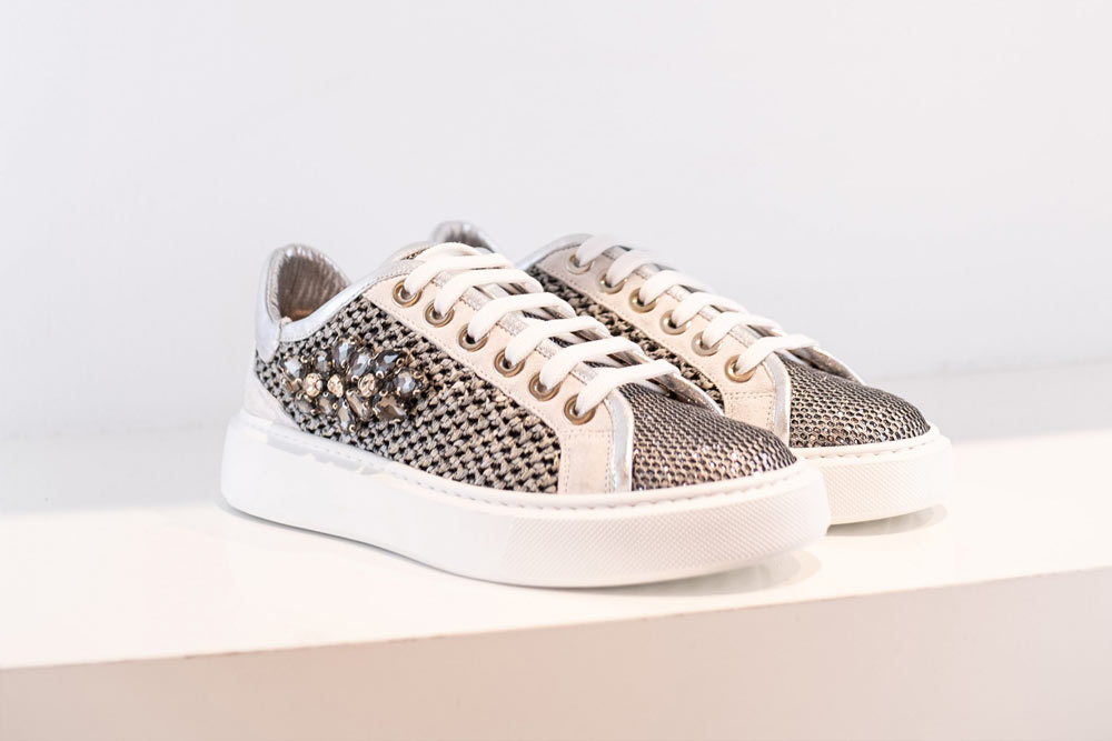 Sneaker Evaluna 2010 Metalic